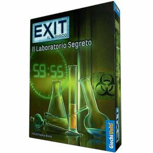 Giochi Uniti Exit il Laboratorio Segreto