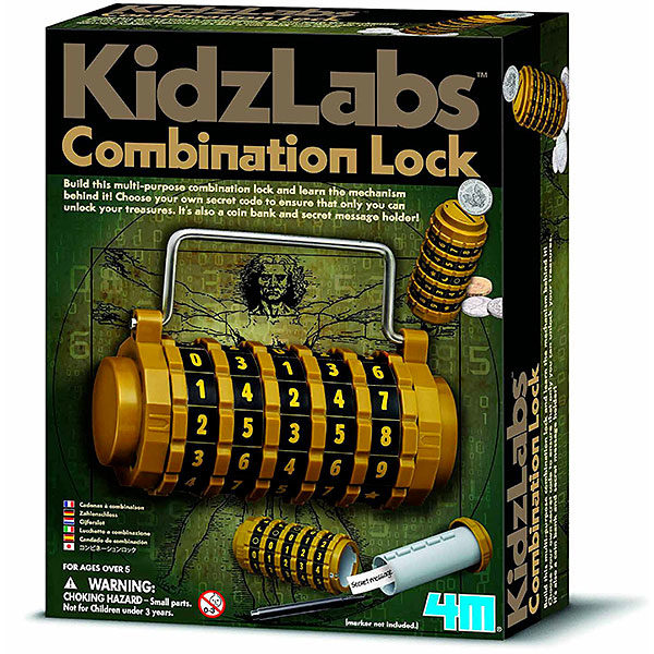 Kidz Labs Lucchetto a Combinazione