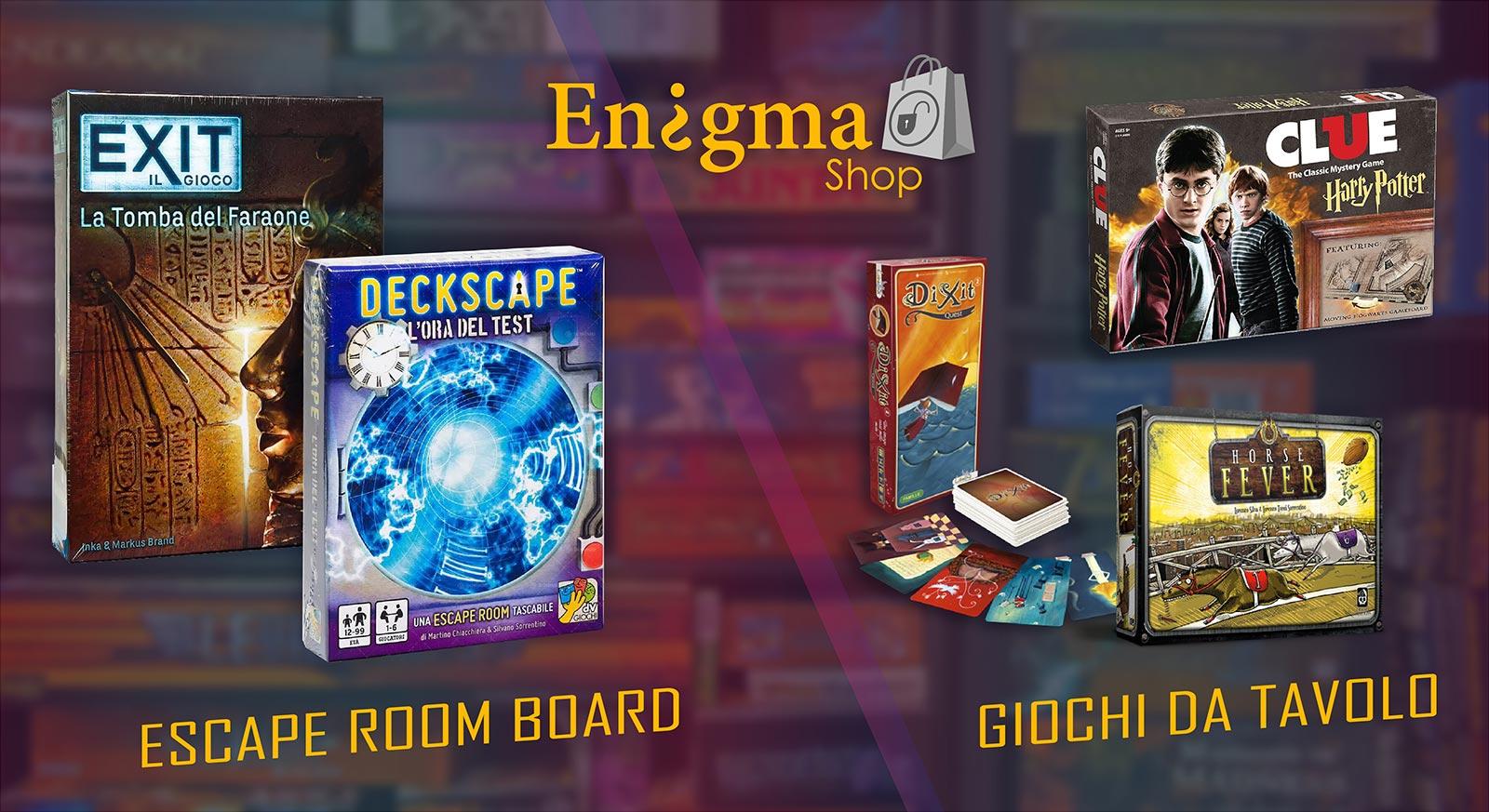 enigmaroom shop escape room board