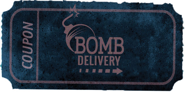 escape everywhere coupon bomb delivery