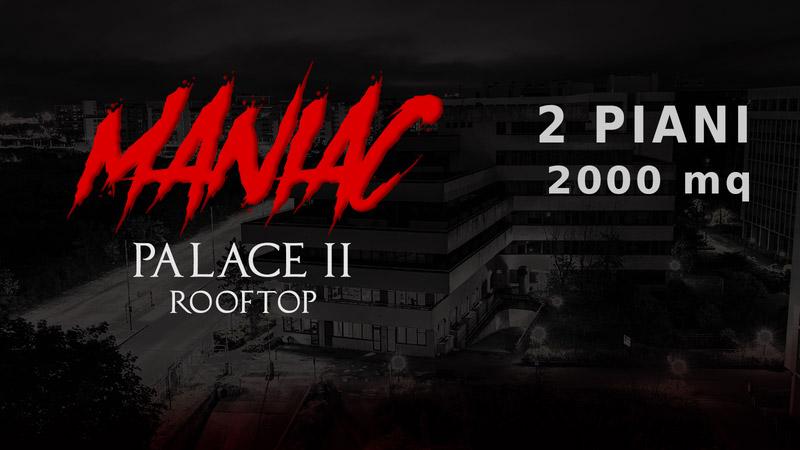 maniac palace rooftop 2 piani