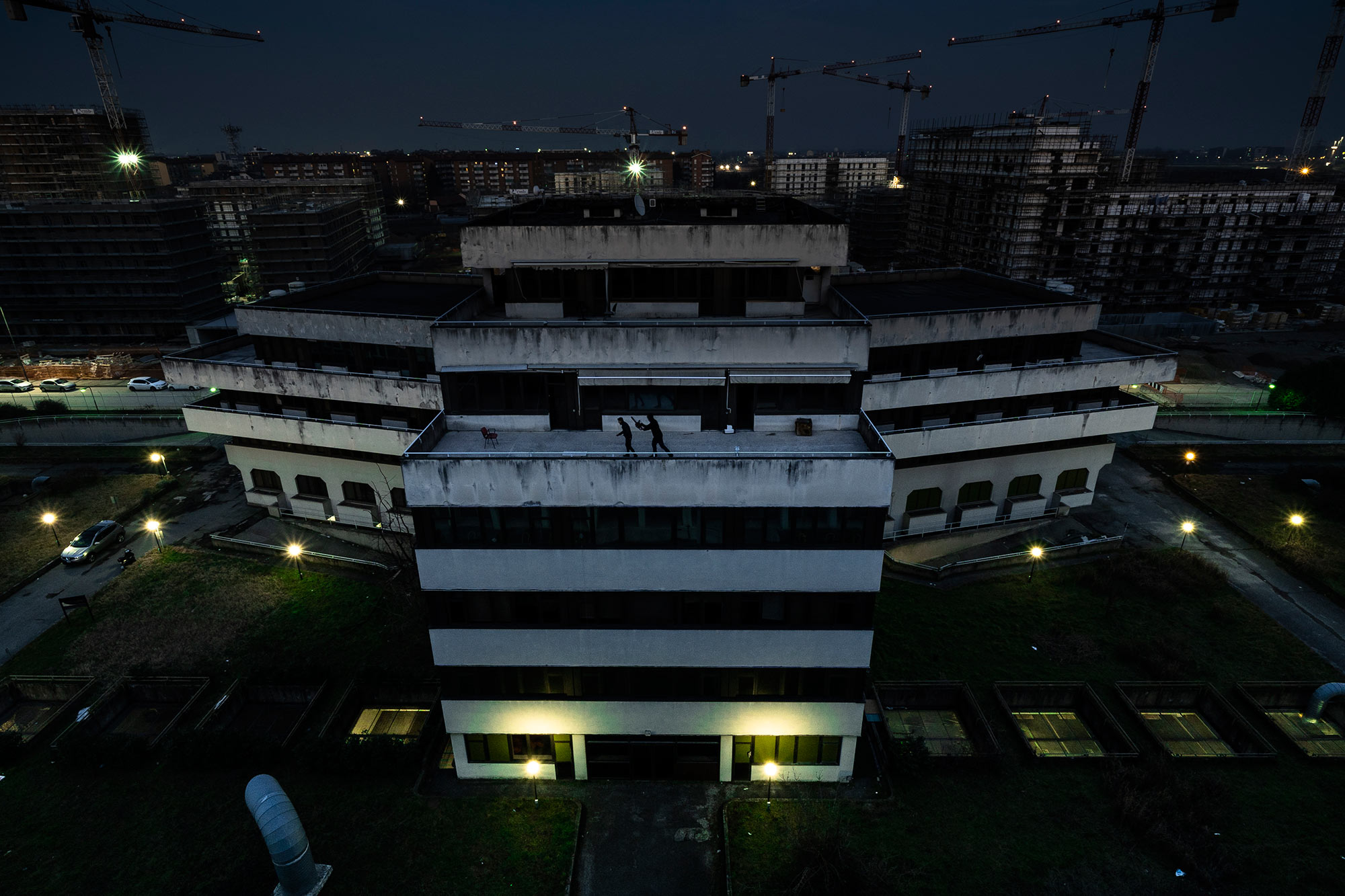 escape palace maniac palace II rooftop