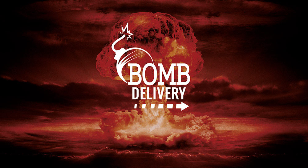 escape bomb delivery